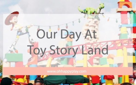 Our Day At Toy Story Land
