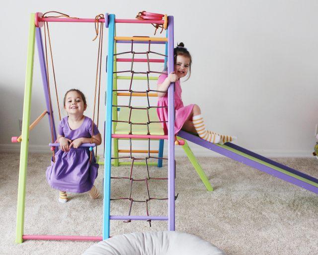The Most Versatile Playset, EZPLAY, EzPlay playsets, modern playroom, dinning room playroom, playroom slide, playlet, best playset, modern playset