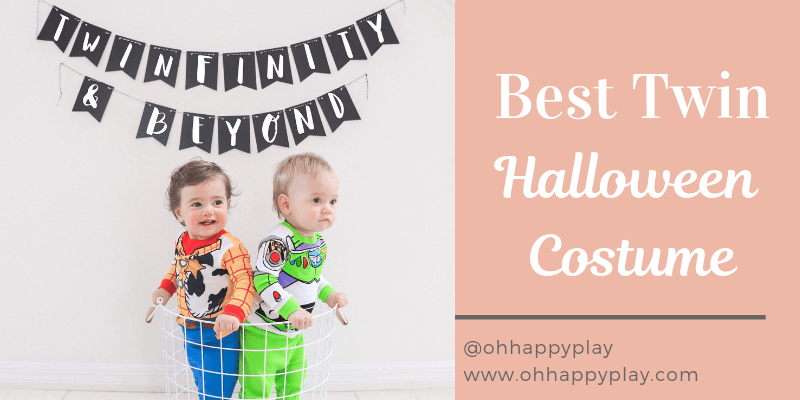 twinfinity and beyond, twin boy halloween costume idea, twin boy Disney halloween costume