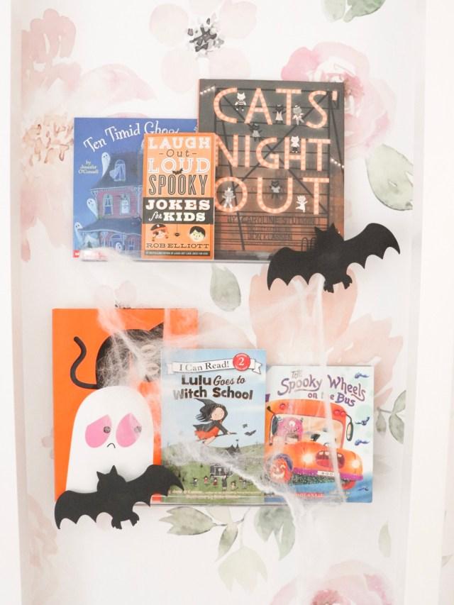 6 fun halloween books for kids, halloween books for toddlers, halloween books for preschoolers, halloween books 2019., halloween books for children, cute halloween books, halloween bookshelf design