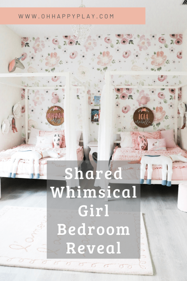 shared girl bedroom ideas