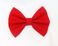 Etsy Red Hair Bow Clip