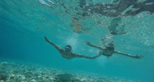 kefalonia swimming