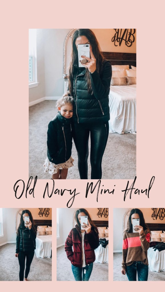 old navy fashion haul