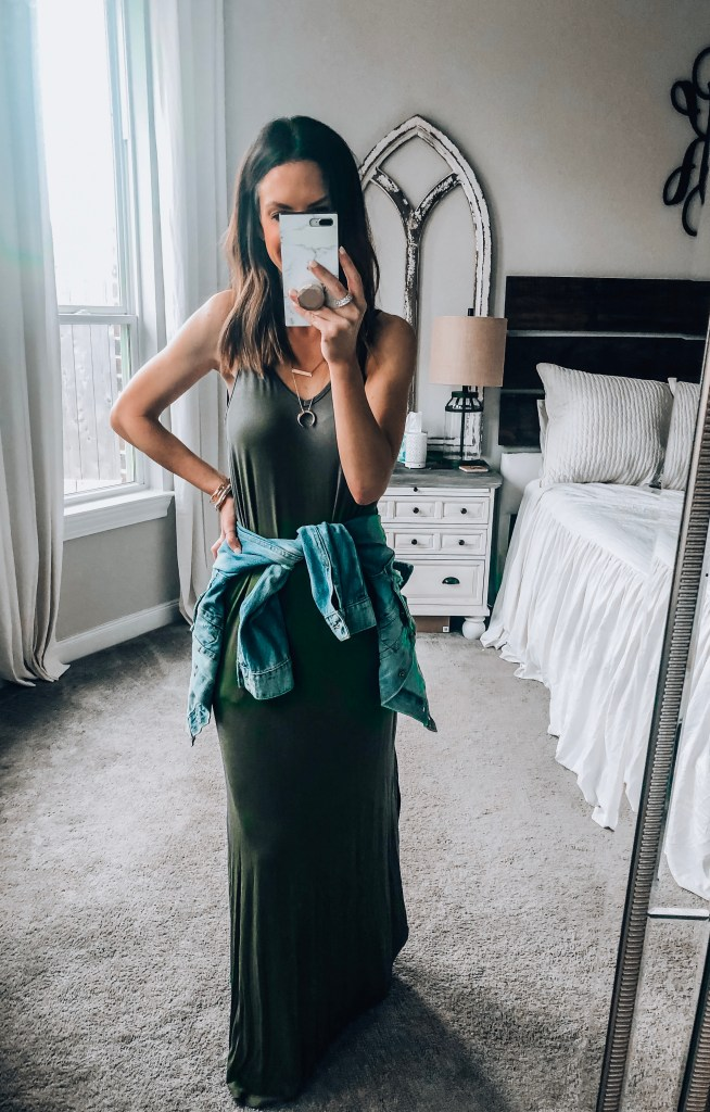 Amazon Sleeveless Maxi Dress