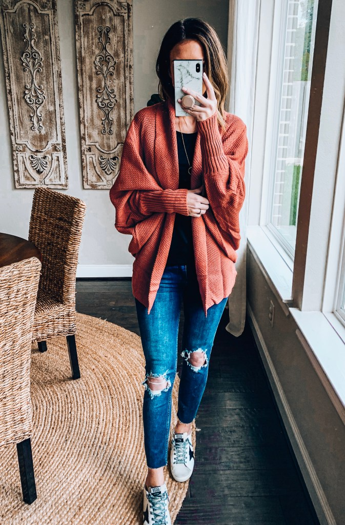 oversized cardigan for fall