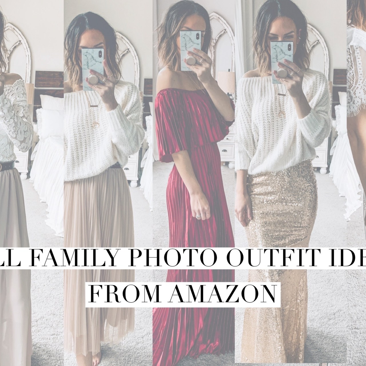 Fall Family Photo Outfit Ideas from Amazon