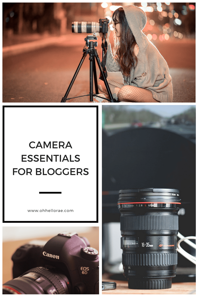 Camera Essentials, camera essentials for bloggers