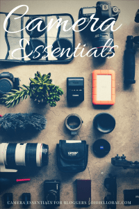 Camera Essentials