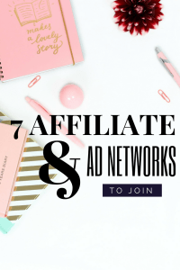 new blogger affiliate and ad programs to join
