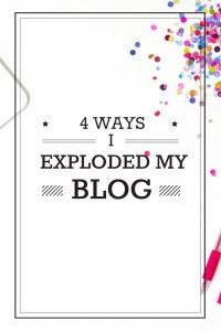 Explode Blog Traffic | Explode Blog Growth