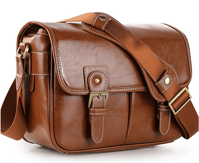 Leather Waterproof Camera Bag - Photography Gift Ideas for the Holidays