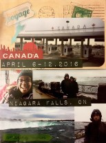 first canada trip. spring 2016.