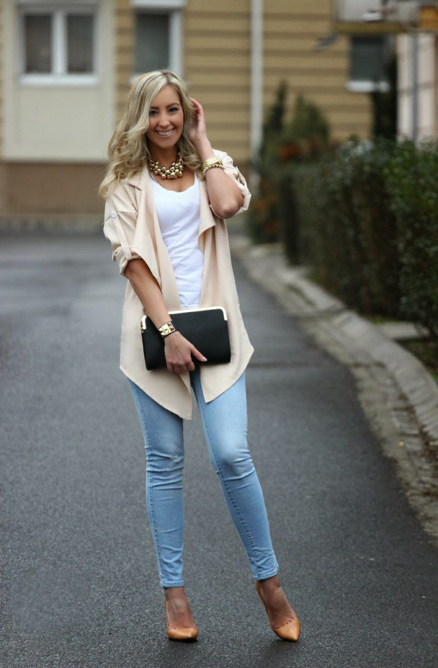 Create Your Fashion Style With Casual Spring Outfits - Ohh ...