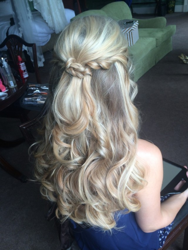 25 charming blonde wedding hairstyles - ohh my my