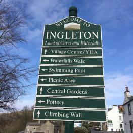 Ingleton sign