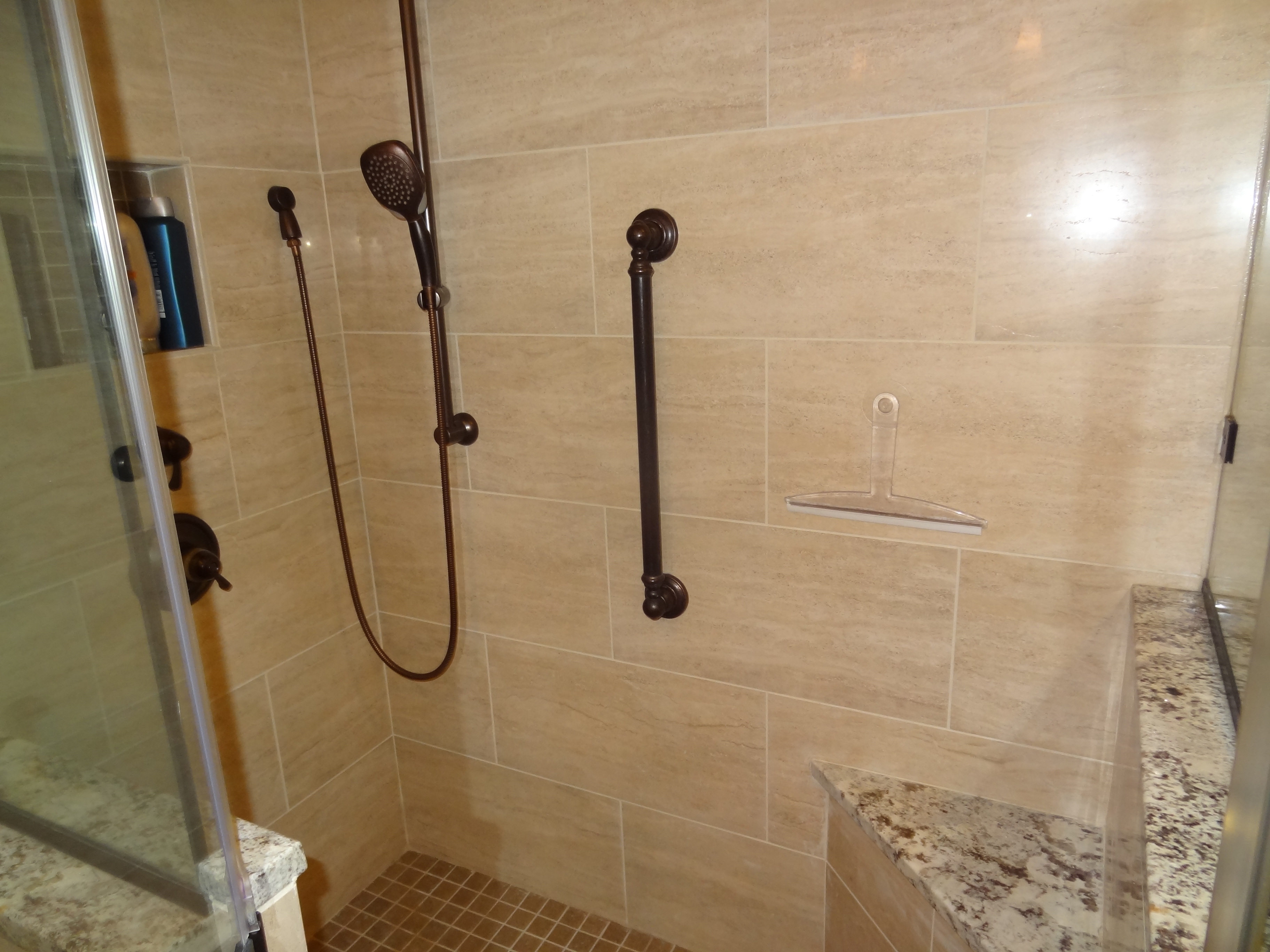 OHI Design Shower Installation