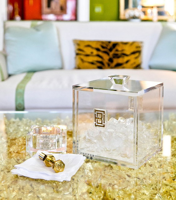 Tory Burch Home via Oh I Design Blog