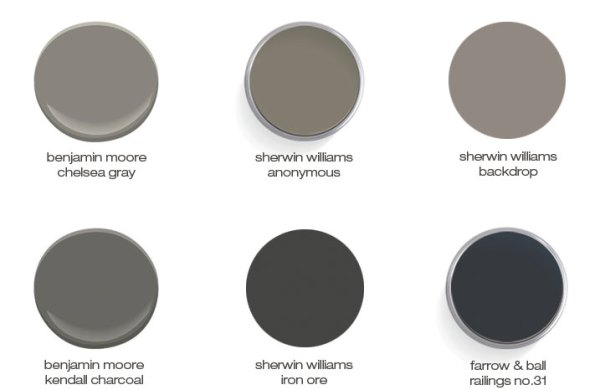 paint colors via, oh, i design blog