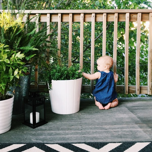 How I Baby Proofed Without Compromising Style Oh I