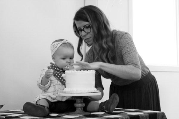 Evie's First Birthday via Oh, I Design Blog