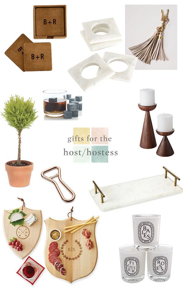 Host/Hostess Gift Guide via Oh, I Design Blog