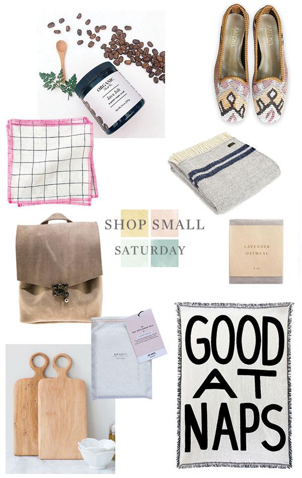 shop small saturday via oh, i design blog!