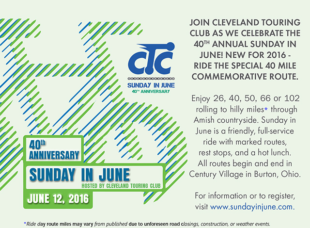 Image: 2016 Sunday In June Advertisement