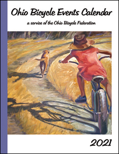 Thumbnail of 2021 Ohio Bicycle Events Calendar cover