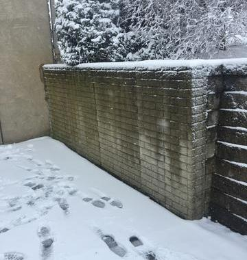 Stabilizing a Retaining Wall with Wall Anchors in Lancaster, OH