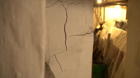 Wall Cracks in basement