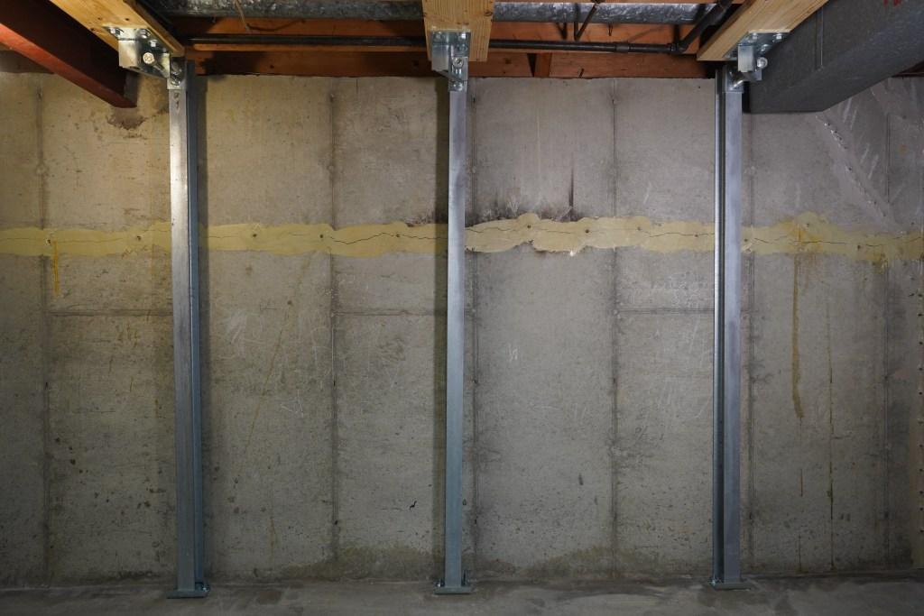 IntelliBrace Basement Wall Repair