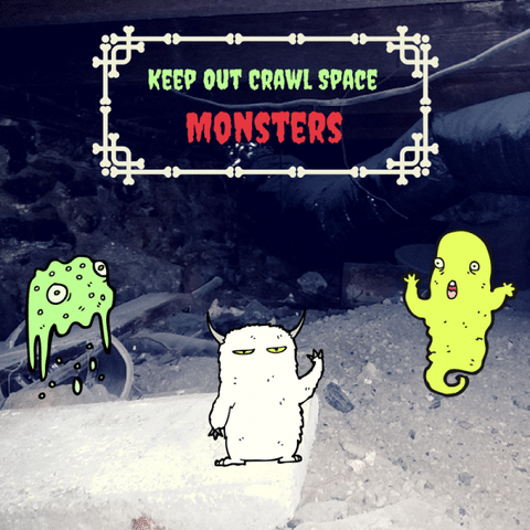 Keep out crawl space monsters this Halloween with products installed by Ohio Basement Authority.