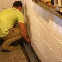 installing reliable interior basement drainage