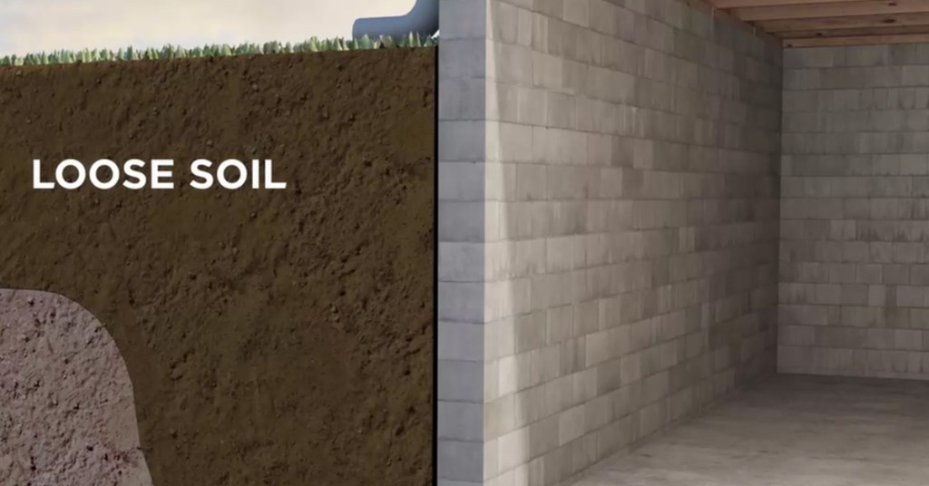 loose clay soil