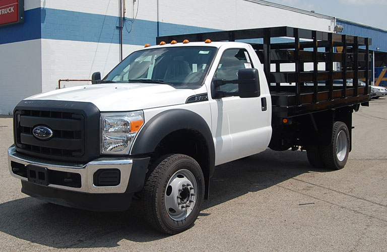 Diesel Trucks For Sale In Ohio >> Stake Bed Truck | Ohio Cat Rental Store