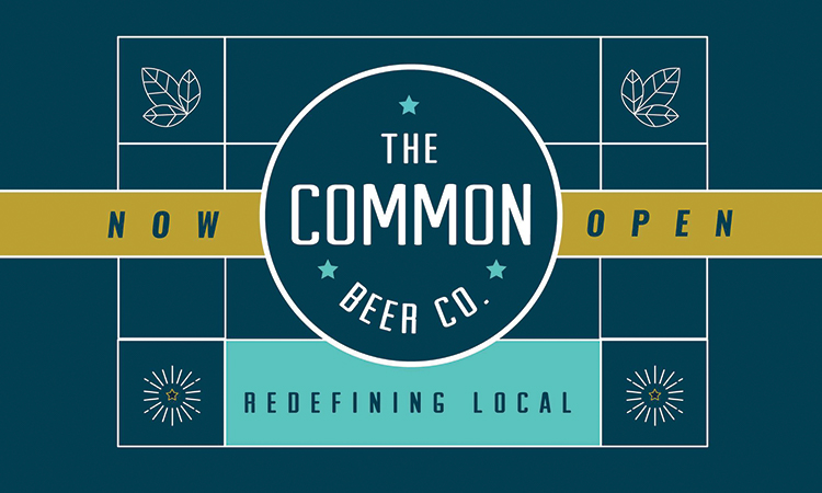 The Common Beer Co. Redefining Local, now open.