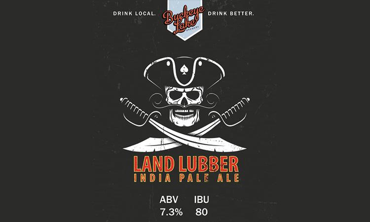 Buckeye Lake Brewery Land Lubber IPA