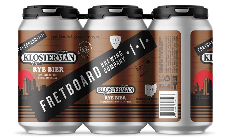 Fretboard Brewing Klosterman Rye Bier