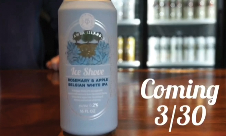 Twin Oast Brewing Ice Shove can