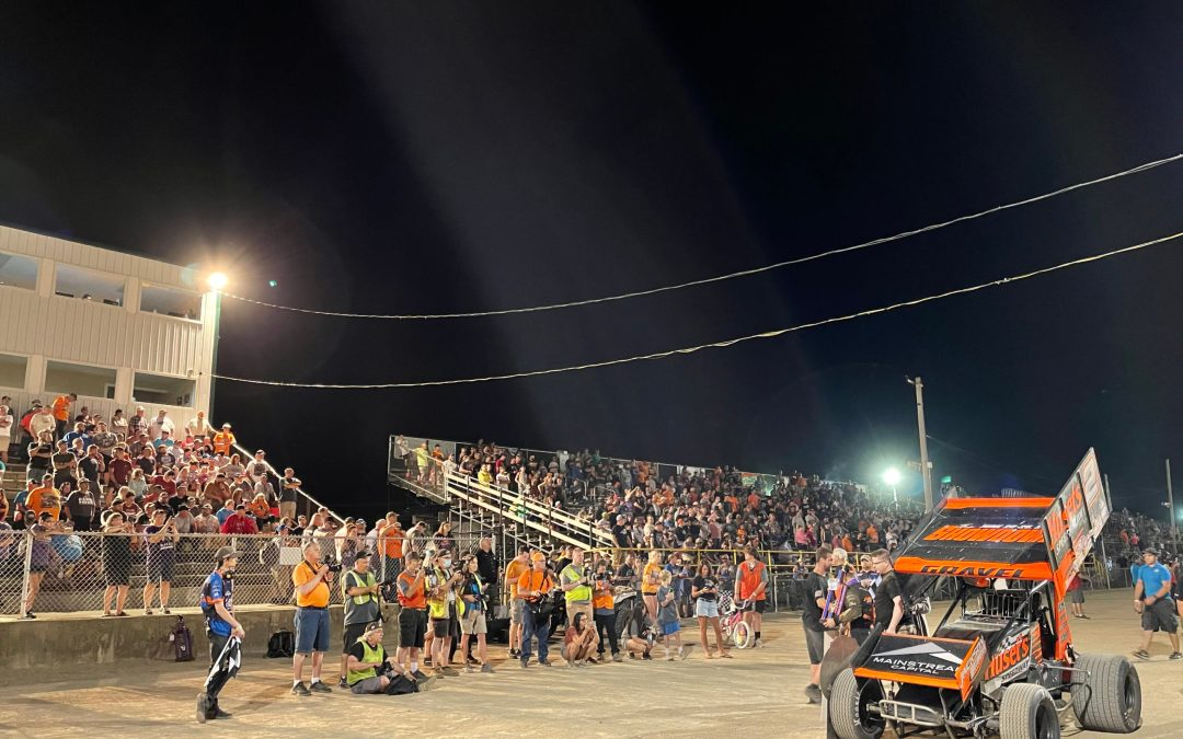 The World of Outlaws and 305 Sprints, Attica May 21, 2021