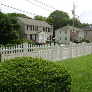 4-Vinyl Picket fence