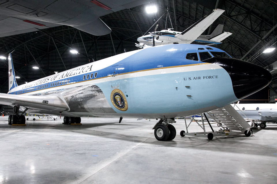 Air Force One (credit: Ken Larock)