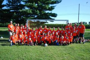 Bethel Soccer Camp - group photo