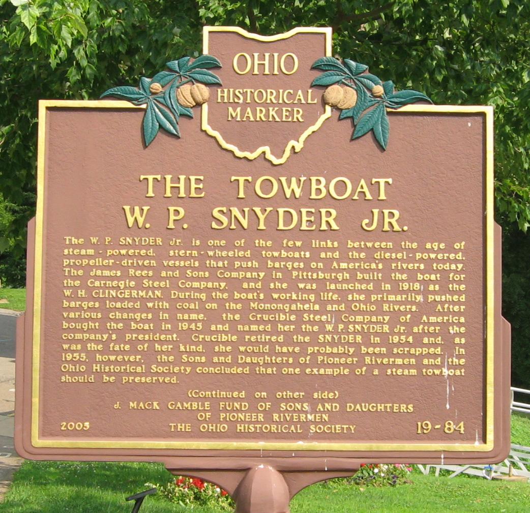 Ohio River Museum Ohio River Parks Project