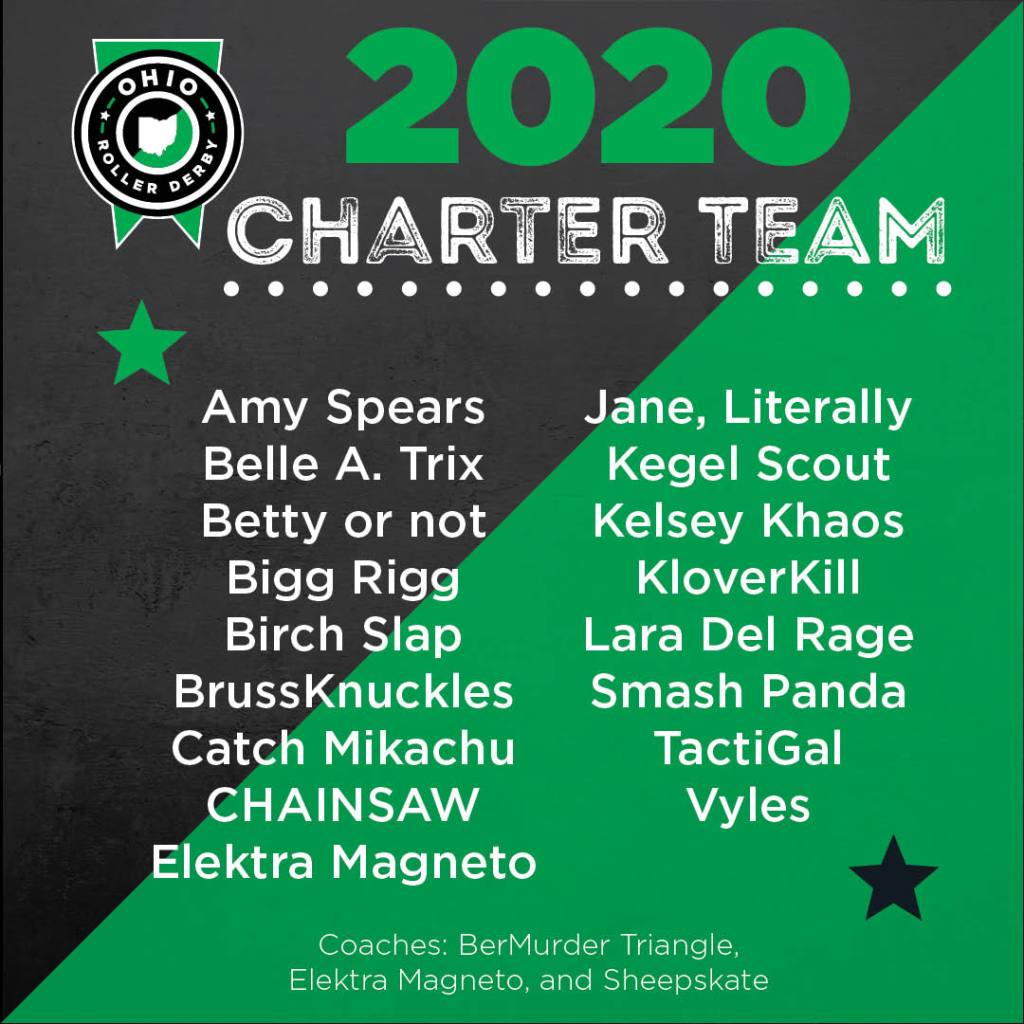 2020 Charter Team roster