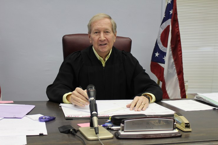 Athens County, Ohio, Judge Robert W. Stewart says CASA volunteers save the county money and provide a valuable service.