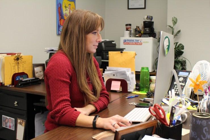 Jenny Stotts leads the CASA program in Athens County, Ohio.