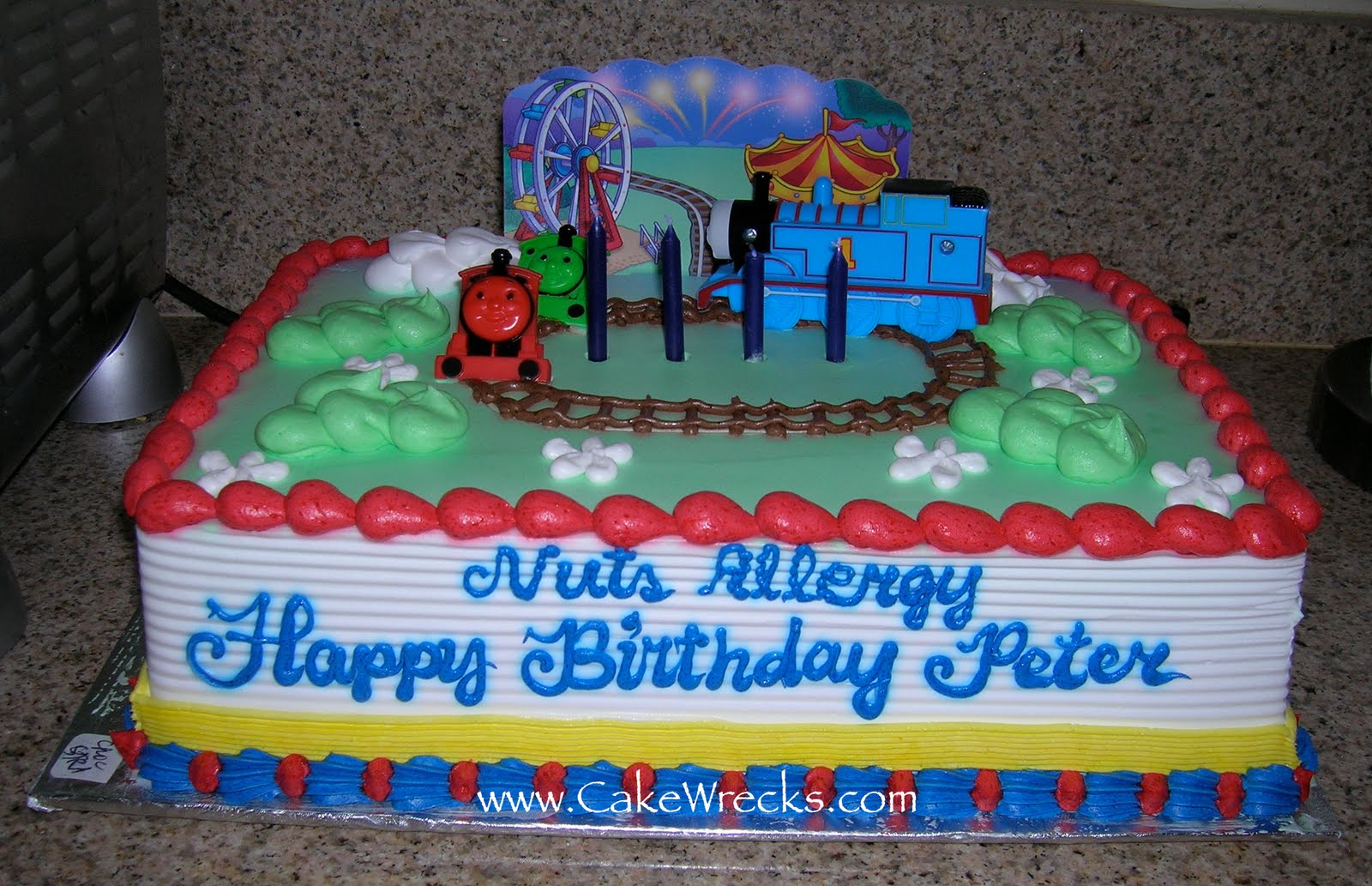 Walmart Birthday Cakes Fail