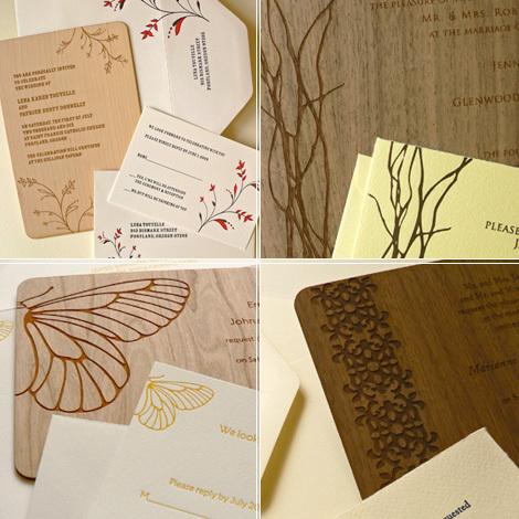 Modern Elegant Metallic Brown Unique Wedding Invitation Cards Wpl0007